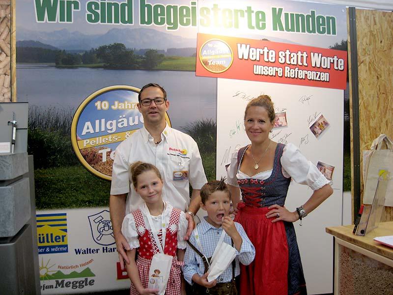 Guido Butscher mit Familie