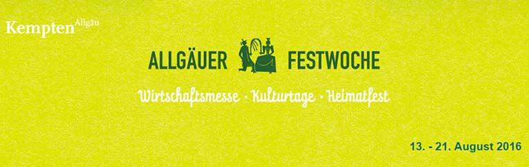 Allgäuer Festwoche 2016 in Kempten