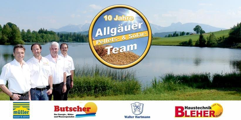 Verbund kompetenter Handwerker und Heizungsbauer im Allgäu