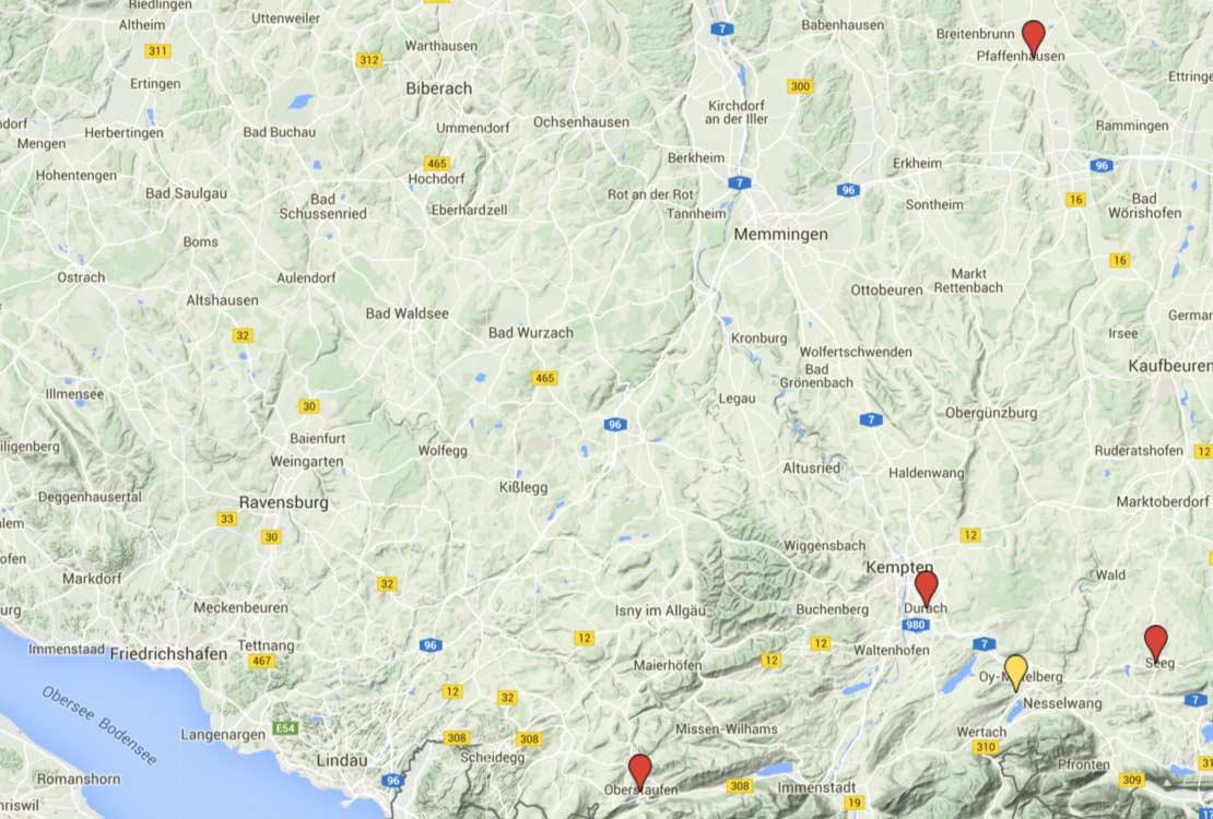 Heizungsbauer und Solar-Fachbetriebe im Allgäu